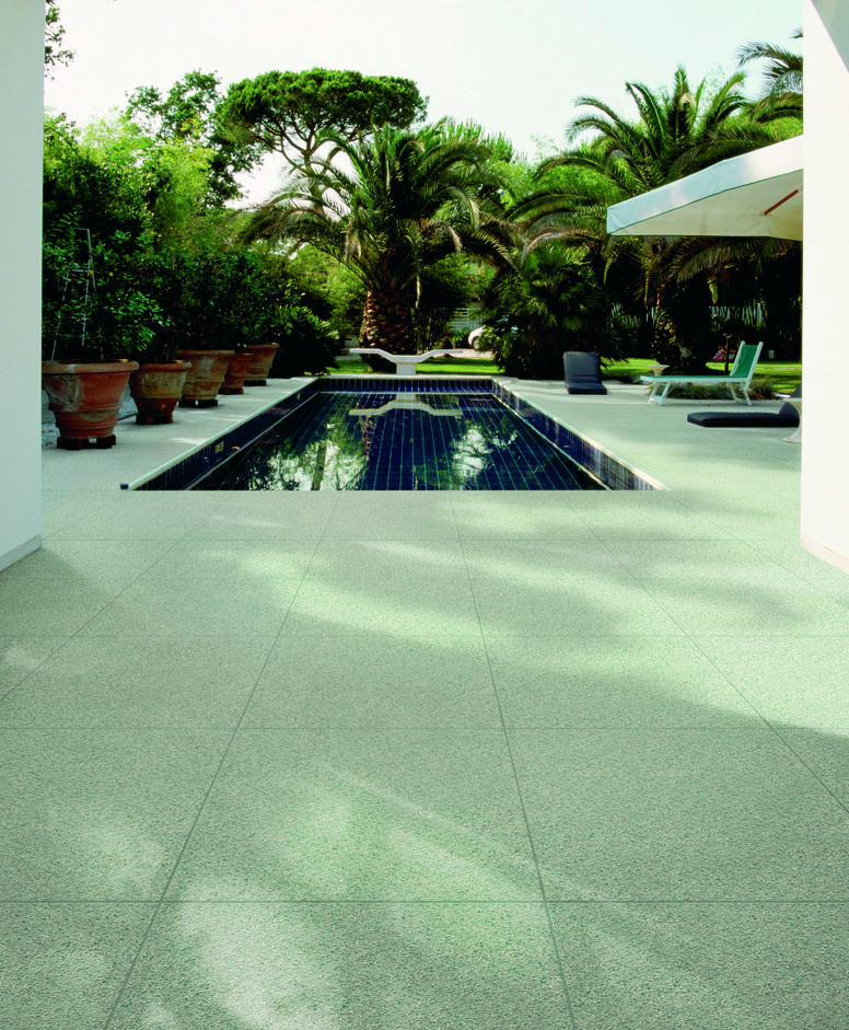 Choosing the correct exterior tiles is important itile for Pool area flooring