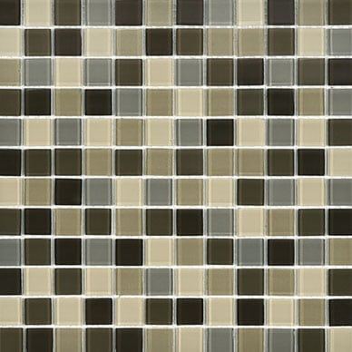 iTILE Mixed Mosaic Tile Brown
