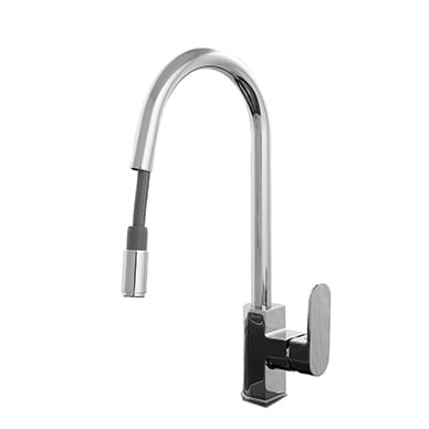 iTILE Kitchen Sink Mixer Retractable Spout
